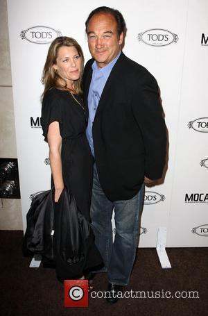 Jim Belushi and Jenny Belushi