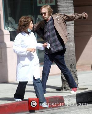 Rocker Tom Petty  heading to the doctor's office with a nurse Beverly Hills, California - 24.05.10