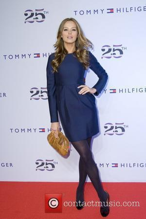 Petra Nemcova, Celebration and Tommy Hilfiger