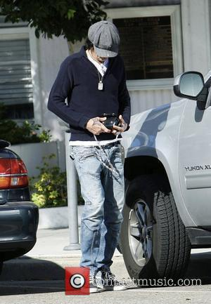 Tommy Lee runs errands in Beverly Hills Los Angeles, California - 01.04.10