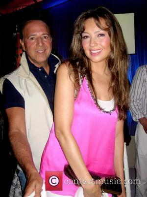 Tommy Mottola and pregnant wife Thalia at the Art for Life Benefit East Hampton, New York - 24.07.10