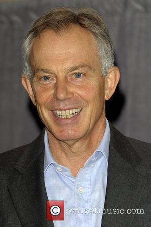 Tony Blair  The Sixth Semi-Annual MUNK Debate media photo call held at the InterContinental Toronto Centre.  Toronto, Canada...