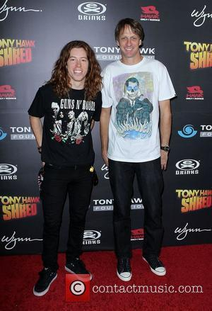 Shaun White and Tony Hawk  Tony Hawk: Shred presents the Stand Up For Skateparks Benefit at the Wynn Resort...