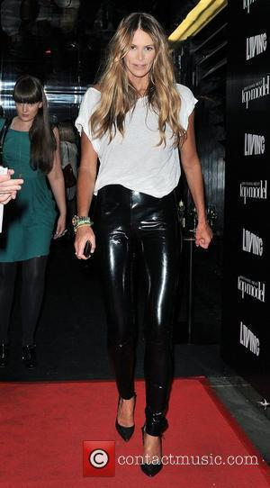 Elle MacPherson leaving Circus after attending Britain's Next Top Model series 6 launch party London, England - 30.06.10