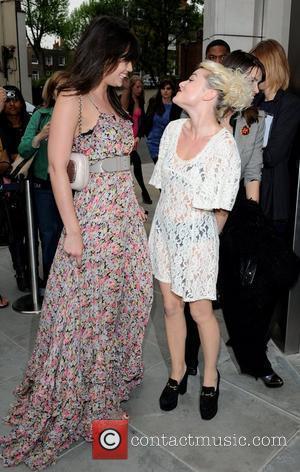 Daisy Lowe and Jaime Winstone