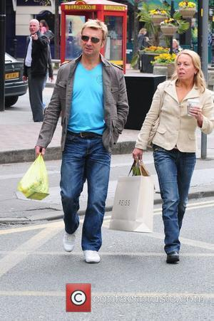 Jayne Torvill and Christopher Dean out and about in Manchester City Centre Manchester, England - 23.04.10