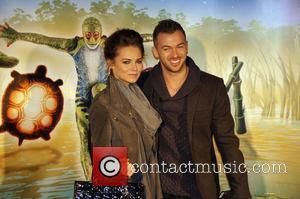 Kara Tointon and Artem Chigvintsev Cirque du Soleil UK Premiere of 'Totem' at the Royal Albert Hall - Arrivals London,...