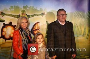 Ray Winstone with his wife Elaine and daughter Ellie Cirque du Soleil UK Premiere of 'Totem' at the Royal Albert...