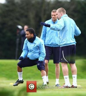 Aaron Lennon and Peter Crouch