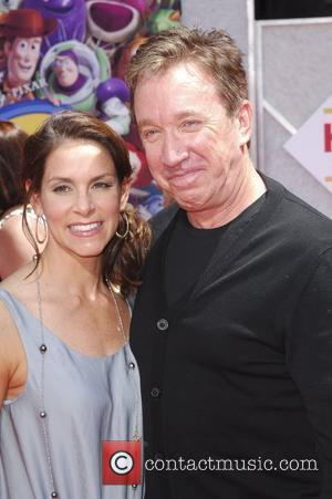 Tim Allen and wife  Los Angeles Premiere of Walt Disney Pictures 'Toy Story 3' at the El Capitan Theatre...