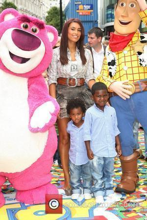 Chantelle Tagoe With Her Sons