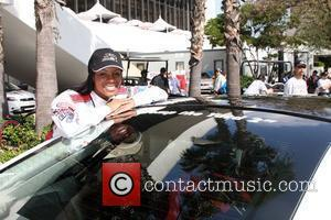 Tika Sumpter The Toyota Pro/Celebrity Race qualifying at Long Beach Los Angeles, California - 16.04.10