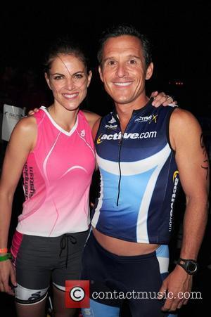 Natalie Morales and Jim Garfield The Third annual Nautica South Beach Triathlon to benefit St. Jude Children's Hospital Miami Beach,...