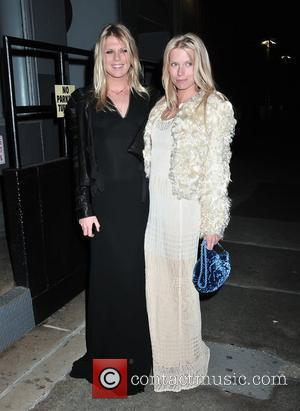 Alexandra Richards and Theodora Richards The Tribeca Ball 2010 held at the New York Academy of Art New York City,...