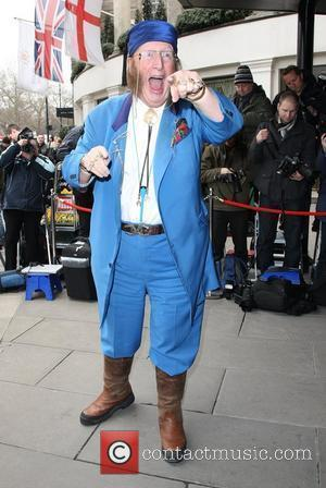 John McCririck The TRIC awards 2010 (Television and Radio Industries Club) held at the Grosvenor hotel - outside arrivals London,...