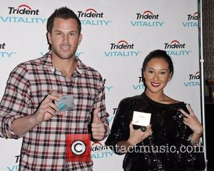 Doug Reinhardt and Adrienne Bailon