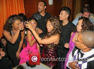 Toccara Jones, Trina and Mya Rap star Trina's birthday celebration at Mia Lounge Miami, Florida - 10.12.09
