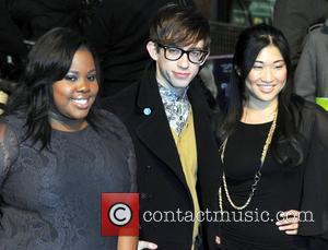 Amber Riley, Glee and Kevin Mchale