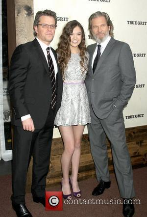 Matt Damon, Hailee Steinfeld and Jeff Bridges