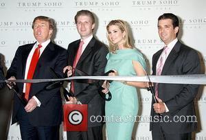 Donald Trump, Eric Trump and Ivanka Trump