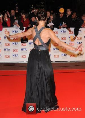Amanda Donohoe National Television Awards held at the O2 Arena. London, England - 20.01.10