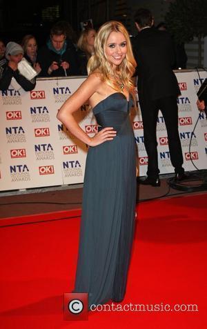 Sammy Winward The National TV awards 2010 (NTA's) held at the O2 centre London, England - 20.01.10