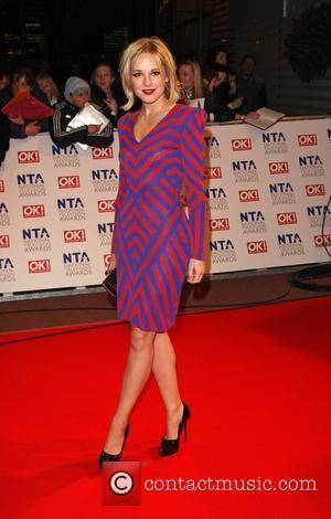 Zoe Lister The National TV awards 2010 (NTA's) held at the O2 centre London, England - 20.01.10