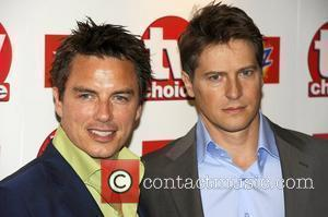 John Barrowman and Guest TV Choice Awards 2010 at The Dorchester - arrivals London, England - 06.09.10
