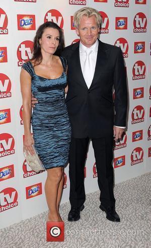 Tana Ramsay and Gordon Ramsay,  TV Choice Awards 2010 at The Dorchester - Arrivals. London, England - 06.09.10
