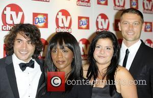Marc Elliott, Dianne Parish, Nina Wadia & Guest TV Choice Awards 2010 at The Dorchester - arrivals London, England -...