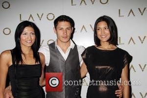 Tinsel Korey, Alex Meraz, Julia Jones The 'Twilight Wolfpack' host a night at LAVO nightclub at The Palazzo Resort Casino...