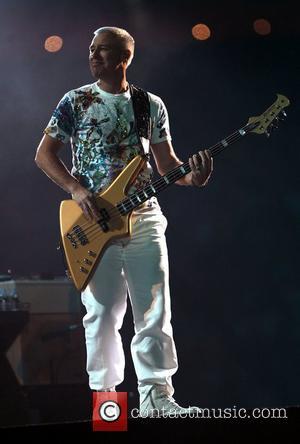 Adam Clayton U2 perform live in concert at the ANZ Stadium on their '360 degree' tour Sydney, Australia - 13.12.10