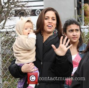 Ana Ortiz and With Daughter Paloma Louise