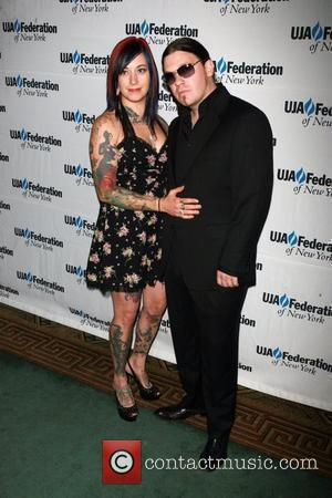 Brent Smith and guest UJA-Federation's 2010 Music Visionary of the Year award luncheon at The Pierre Ballroom New York City,...
