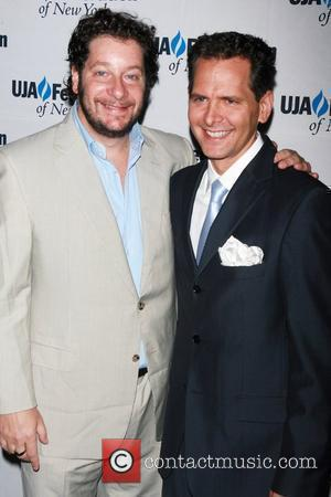Jeffrey Ross and Craig Kallman  UJA-Federation's 2010 Music Visionary of the Year award luncheon at The Pierre Ballroom New...