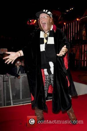 John McCririck First eviction from the 'Ultimate Big Brother House' at Elstree Studios Borehamwood, England - 27.08.10