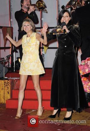 Nikki Grahame and Davina McCall  The Final of Ultimate BIG Brother 2010  at Elstree Studios  Borehamwood, Hertfordshire...
