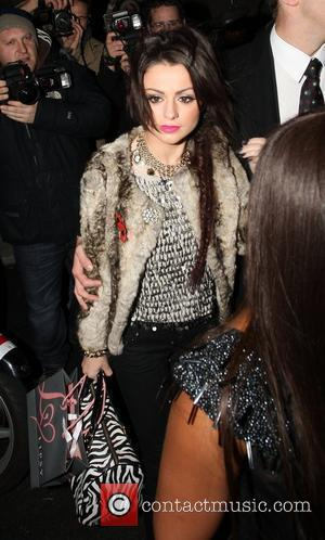 Cher Lloyd Cosmopolitan Ultimate Women Of The Year Awards at the Banqueting House - Departures London, England - 02.11.10