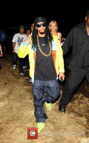 Lil Jon backstage at the Ultra Music Festival at Bicentennial Park Miami, USA - 27.03.10