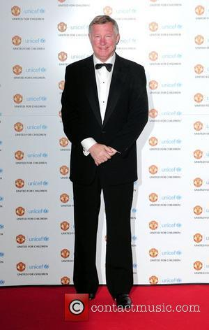 Sir Alex Ferguson arrives at the Unicef Gala dinner held at Old Trafford Manchester  Manchester, England - 28.11.10