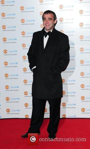 Michael Le Vell UNICEF Dinner 2010 held at Manchester United Football Club, Old Trafford Manchester, England - 28.11.10