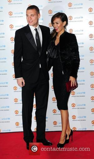Nemanja Vidic and wife Ana UNICEF Dinner 2010 held at Manchester United Football Club, Old Trafford Manchester, England - 28.11.10