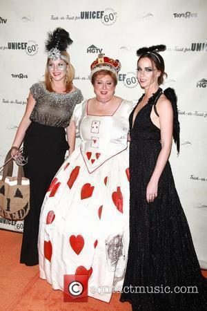 Jenna Bush Hager, Caryl Stern and Barbara Bush  1st Annual UNICEF Masquerade Ball celebrates the Trick-or-Treat for UNICEF at...
