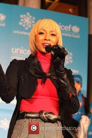 RnB singer, Keri Hilson  UNICEF Snowflake Lighting Ceremony 2010, at the Presbyterian Church in New York City New York...