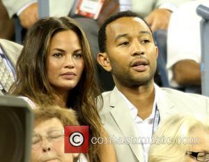 Singer John Legend and John Legend