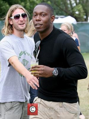 Dizzee Rascal aka Dylan Kwabena Mills The V Festival 2010 held at Hylands Park - Celebrities Backstage - Day One...