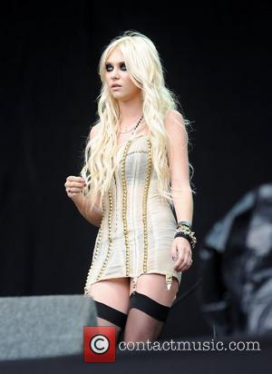 Taylor Momsen of The Pretty Reckless  The V Festival 2010 held at Hylands Park - Performances - Day One...