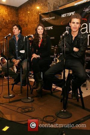 Ian Somerhalder, Nina Dobrev and Paul Wesley