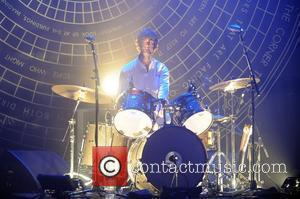 Chris Tomson Vampire Weekend perform at Fillmore Miami Beach  Miami, Florida - 13.10.10