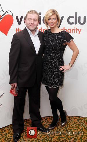 Jon Culshaw and Caroline Feraday The Variety Club Christmas Lunch held at the Grosvenor Hotel London, England - 15.12.09